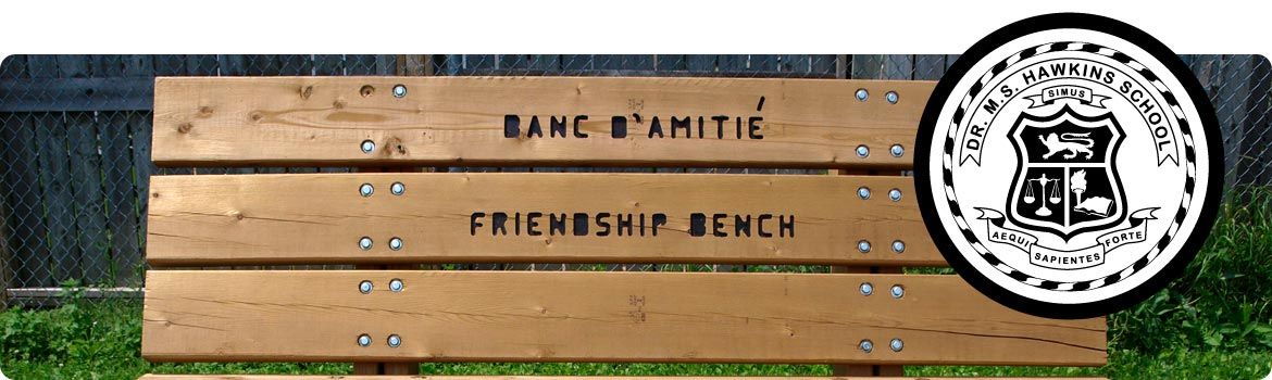 Picture of Hawkins Friendship Bench